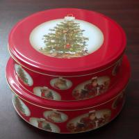Buy cheap Christmas metal packing tin box,tin box supplier from wholesalers