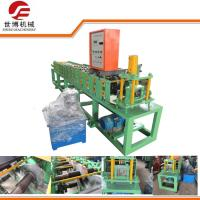 Buy cheap Galvanized Colored Steel Plate Rolling Machine , Door Frame Making Machine from wholesalers