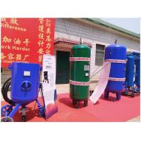 Buy cheap Large Capacity Vertical Air Receiver Tank With Flange Connector Medium Pressure product