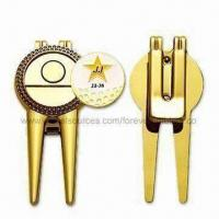 Buy cheap Sports Golf Repair/Divot Tool, Customized Ball Marker Accepted from wholesalers