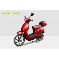 Buy cheap 25Km / H classic Vespa Pedal Assisted Electric Scooter Adults 18 Inch Wheels 48V 250W Motor European standard from wholesalers