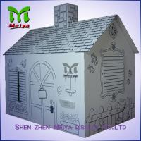 Buy cheap Customized Printing Cardboard Kids Toys Cat , Dog house / playhouse from wholesalers