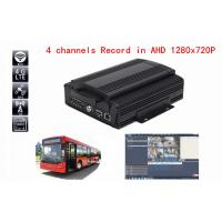 Buy cheap 4CH 3G / 4G Live View Hard Disk Analog HD Mobile DVR with GPS WIFI AHD DVR from wholesalers