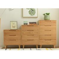 Buy cheap Modern Home Real Wood Storage Cabinets , Simple Style Practical Wooden Storage Unit from wholesalers
