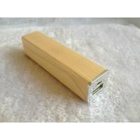 Buy cheap Lightweight Wood / Bamboo Wireless Charging Power Bank For Cell Phone from wholesalers