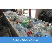Buy cheap Waste Plastic PET Bottle Recycling Machine Scrap Flakes Crushing Washing Drying product