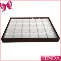 Buy cheap Luxury Jewelry Ring Display Cases Boxes Holders Organizer Trys for Jewellery Shop Store from wholesalers