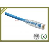Buy cheap CAT6 UTP COMMSCOPE Network Patch Cord RJ45 Plug With Blue Jacket Custom Length from wholesalers