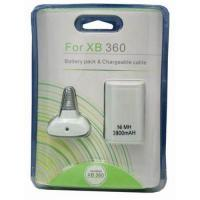 Buy cheap 3800mah Battery Pack & Chargeable for xBox 360 from wholesalers
