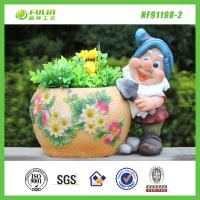 Buy cheap Gnome Flower Planter Pot from wholesalers