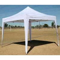 Buy cheap White fold up beach gazebo canopy easy up 10x10 camping tent from wholesalers