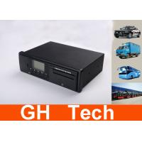 Buy cheap Black Integrated Vehicle GPS Tracker , GLONASS Real Time GPS Tachograph from wholesalers