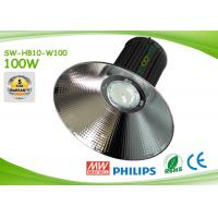 Buy cheap Energy Saving SMD 100 Watt LED Warehouse Lighting 10000lm With Philips LED from wholesalers