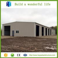 Buy cheap Single slope steel building industrial shed drawing warehouse in Dubai from wholesalers