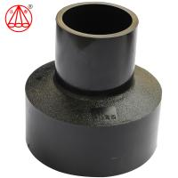 Buy cheap HDPE Butt Fusion Reducer / Reducing Coupling ,total raw matrial ,black from wholesalers