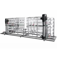 Buy cheap Stainless Steel Fluid Control Equipments , RO Reverse Osmosis Pure Water Equipment from wholesalers