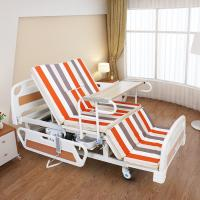Buy cheap Medical Equipments Electric Nursing Bed With Jiecang Motor Punching Bed Board from wholesalers