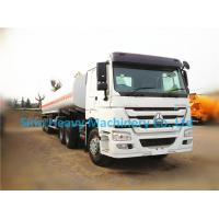 Buy cheap 30 Cubic Meters Water Tank Trailer Truck for Unloading , Manual Transmission from wholesalers