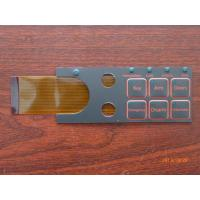 Buy cheap Customized Push Button Touch Screen Keyboard Membrane Switch 0.05mm - 1.0mm from wholesalers
