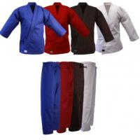 Buy cheap Red , Blue , Black , White Kendo Clothes Sean Connery Karate Uniform from wholesalers