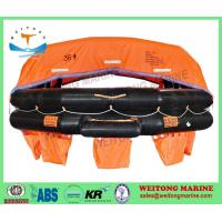 Buy cheap Lifesaving Rafts Solas Approved Inflatable Throw Overboard A Type Life Raft with EC CCS Certificate from wholesalers