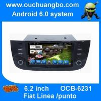 Buy cheap Ouchuangbo car multimedia for Fiat Linea with android 6.0 gps radio BT 1024*600 stereo 16GB from wholesalers