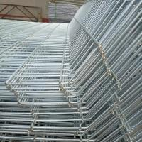 Buy cheap Galvanized / Pvc Coated Double Loop Wire Fence Panel , Security Wire Fence from wholesalers