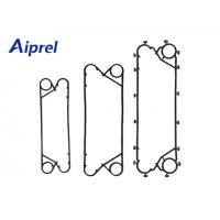 Buy cheap Heat Transfer Alfa Laval  Gaskets , Plate Type Heat Exchanger Parts For Food Industry from wholesalers