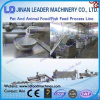 Buy cheap floating animal feed extruder machine  pet food machine from wholesalers