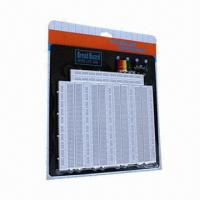 Buy cheap 3260PTS Solderless Breadboard/Protoboard with 4 Binding Posts and Back Plate  from wholesalers