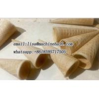 Buy cheap Waffle Cone Production Line For Sale|Ice Cream Sugar Cone Baking Machine from wholesalers