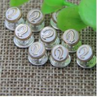 Buy cheap 2018 Spring new pink color zinc alloy hardware 7 mm ear pattern bang nail rivets for clothing luggage from wholesalers