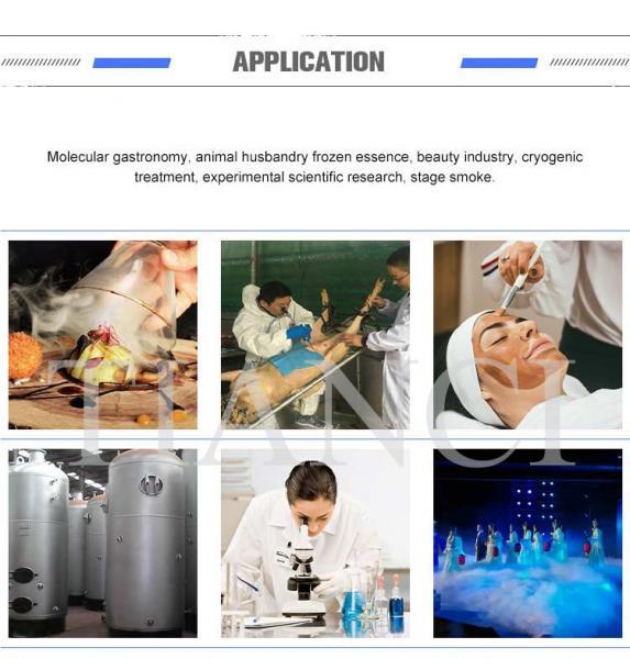 TianChi Liquid nitrogen container / tank YDS-20  YDS-30 Aviation aluminum color  manufacturers