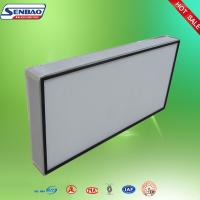 Buy cheap High Efficiency Hepa Air Filters Fiber Glass Air Filter Home Media Ceiling Air Outlet from wholesalers