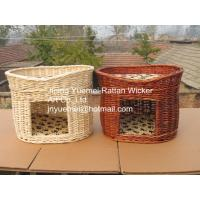 Buy cheap wicker pet basket willow pet basket wicker dog bed wicker dog house kennels Christmas for your pets from wholesalers