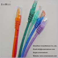 Buy cheap 8 Colors UTP RJ45 Ethernet Cat6 Patch Cable 26AWG Stranded Copper With Different Lengths from wholesalers