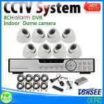 Buy cheap 850tvl 4 channel cctv camera dvr kit ahd hd 720p 1.0mp 4ch cctv dvr kit from wholesalers