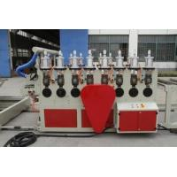 Buy cheap Full Automatic WPC Board Production Line , Wood Plastic Extruder from wholesalers