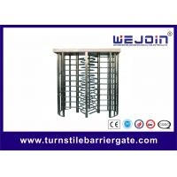 Buy cheap Subway , Metro Turnstile Entry Systems / Stainless Steel Controlled Access Turnstiles from wholesalers