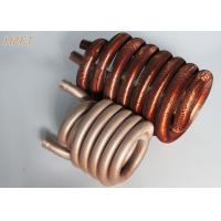 Buy cheap Pool / Spa Water Pumps Finned Tube Coils / Roll Forming Process Fin Coil from wholesalers