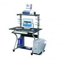 Buy cheap Upright MDF / PB Board Office Computer Table Movable Spanish-attractive DX-091 from wholesalers