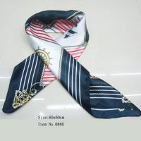 Buy cheap Silk Scarf, Satin Scar, Square Scarf, Fashion Scarf from wholesalers