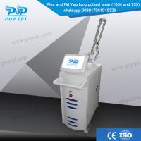 Buy cheap alexandrite laser 755nm hair removal equipment from wholesalers