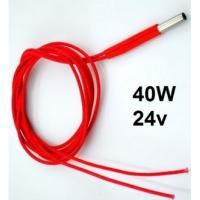 Buy cheap Electronic 24V 40W Cartridge Wire Heater heat resistant for 3D Printer from wholesalers