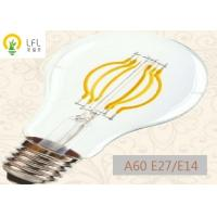 Buy cheap ARC Filament Dimmable LED Candelabra Bulbs , 4W 470ml Decorative Filament Light Bulbs from wholesalers