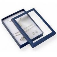 Buy cheap Premium Jewelry Paper Boxes Big Set Transparent Window For Necklace Packaging from wholesalers