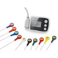 Buy cheap 3/12 Channels 24-Hours Ambulatory Heart Monitoring Portable ECG Holter With CE Mark from wholesalers