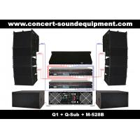 Buy cheap Nightclub Sound Equipment , 480W Full Range Compact Line Array Speaker With 1.4+2x10 Neodymium Drivers from wholesalers