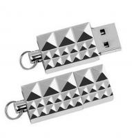Buy cheap Mini Usb 2.0 16 Gigabyte Flash Drive Silver Color Logo Customized Printing from wholesalers