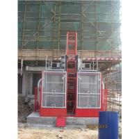Buy cheap Painted Material Construction Lifter / Construction Site Lift For Industrial from wholesalers